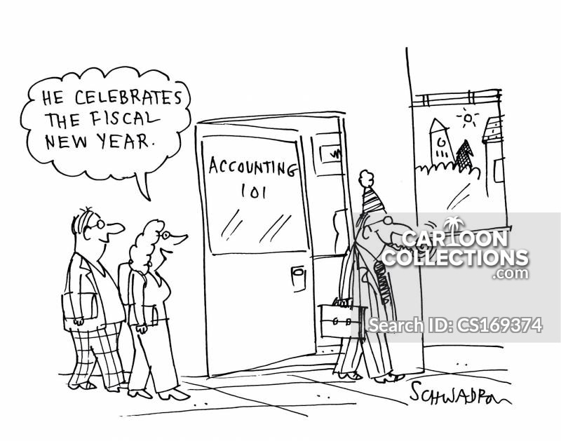 Year End cartoon
