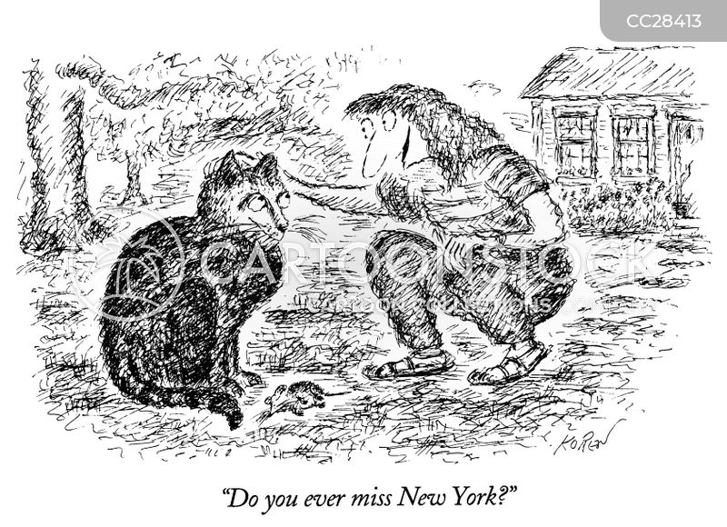 Nyc Rat cartoon