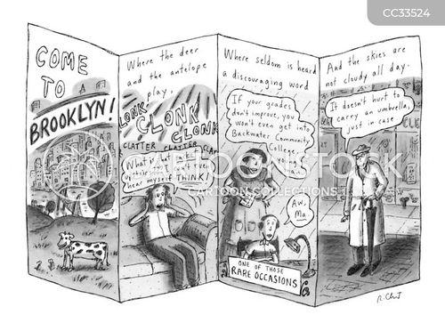 brooklyn cartoon