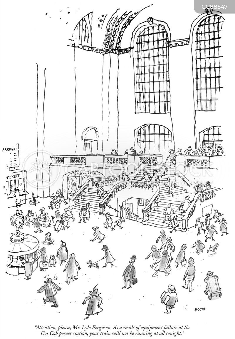 grand central station cartoon
