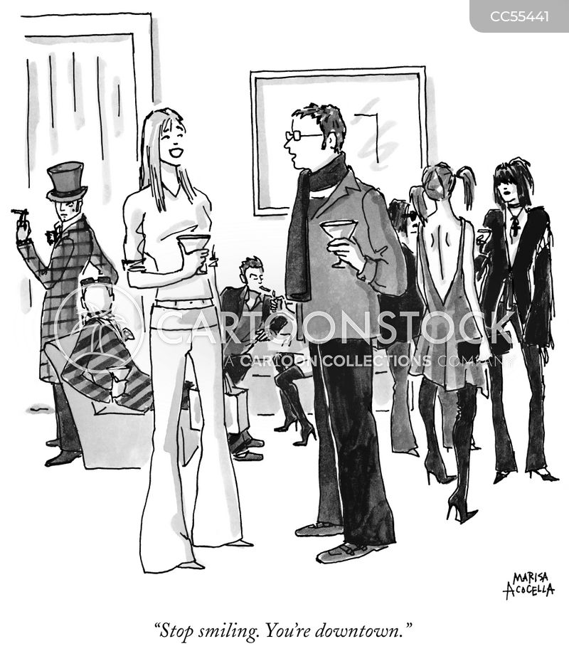 fashion sense cartoon