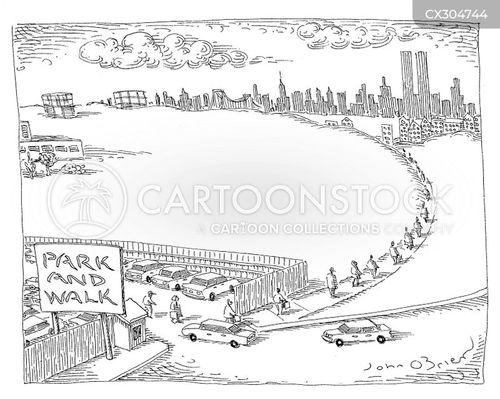 city planning cartoon