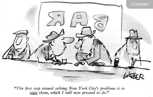 pub talk cartoon