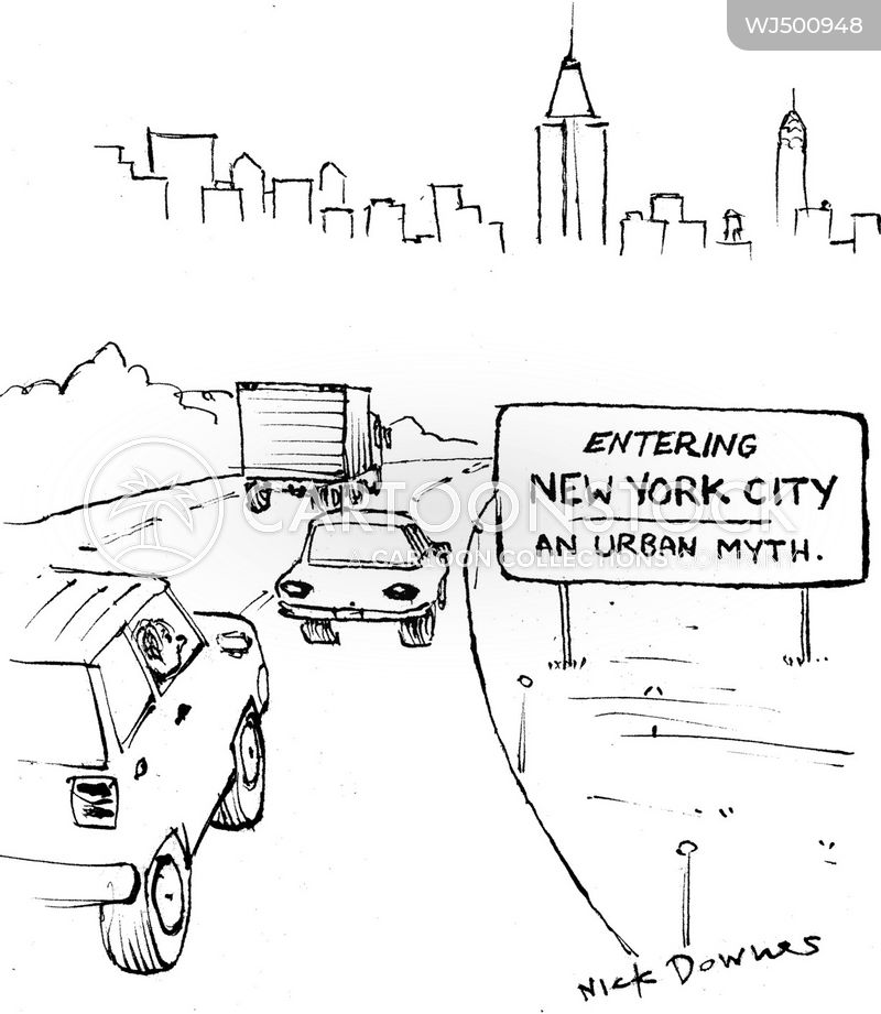 urban myth cartoon