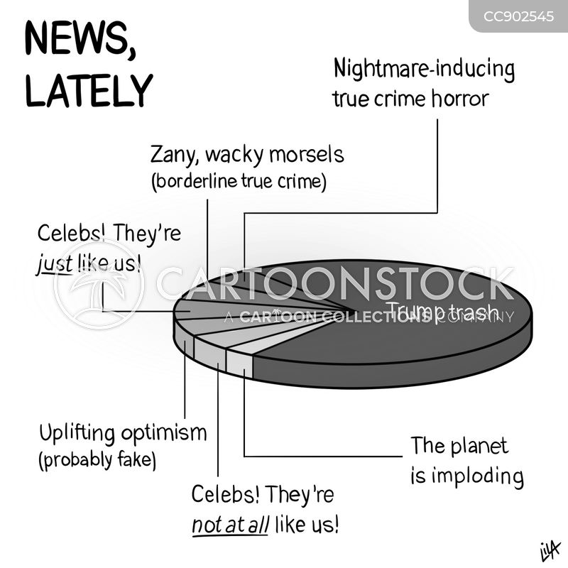 news coverages cartoon