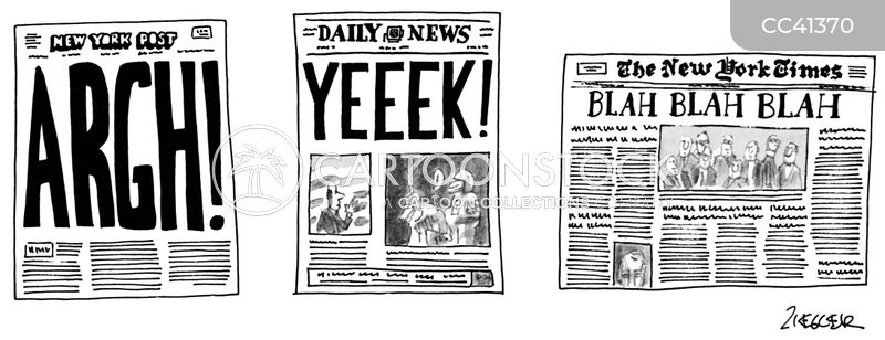tabloids cartoon