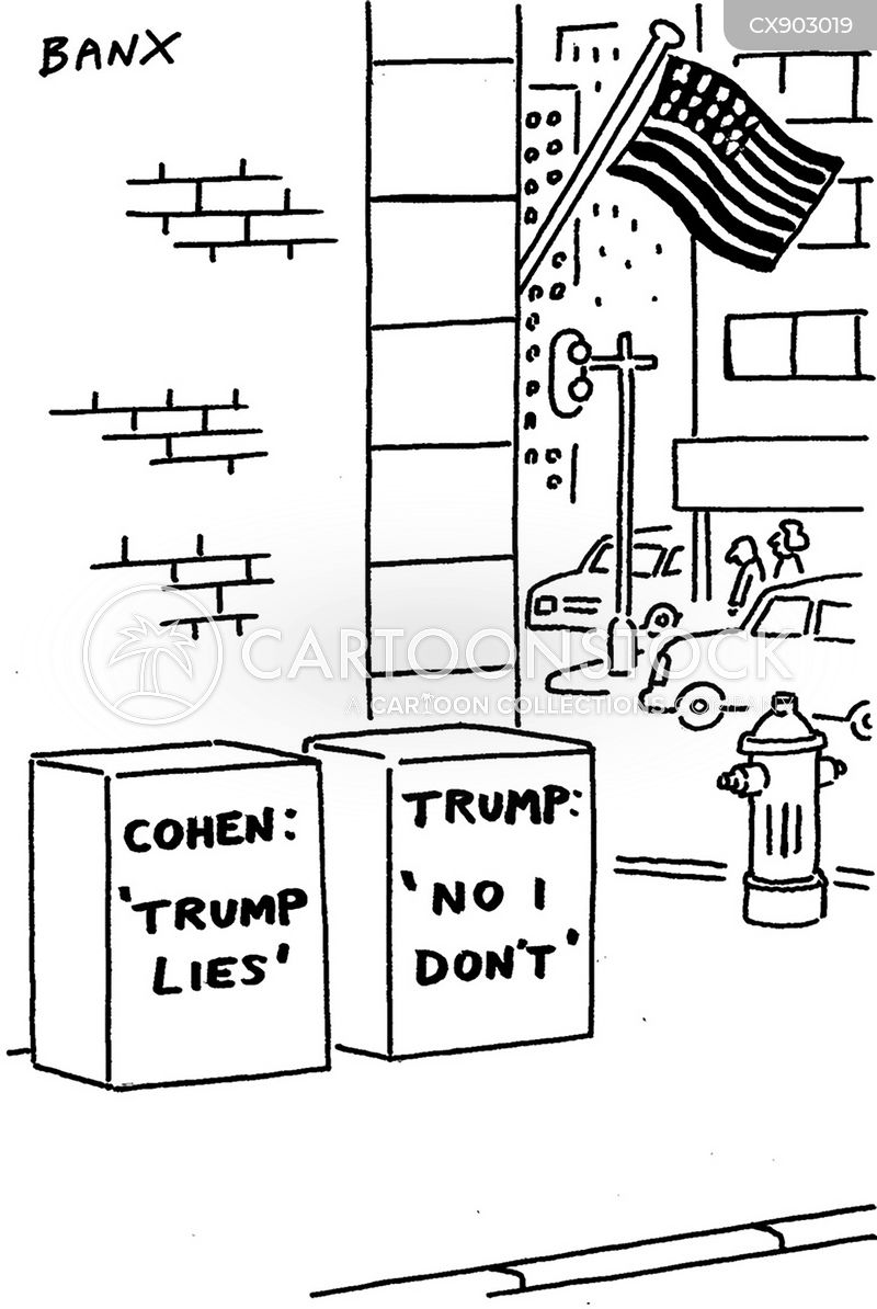 lier cartoon