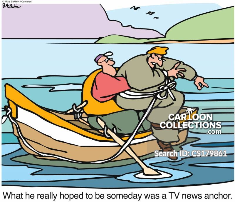 anchor-man cartoon