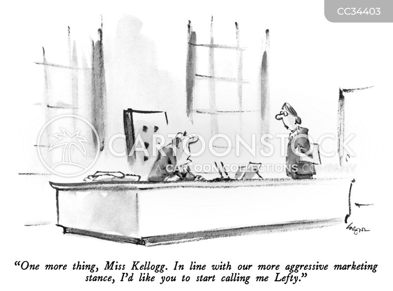 office administrator cartoon