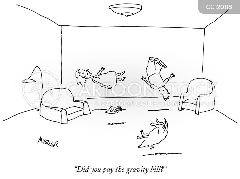 No Gravity cartoon