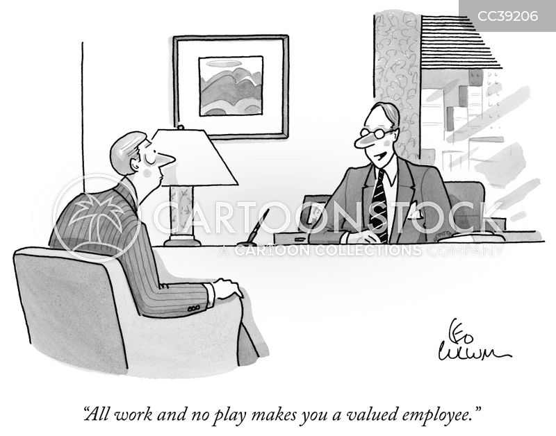 Workplace cartoon