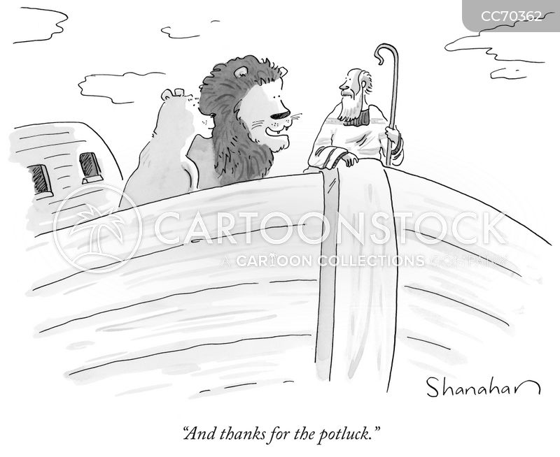 old testament cartoon