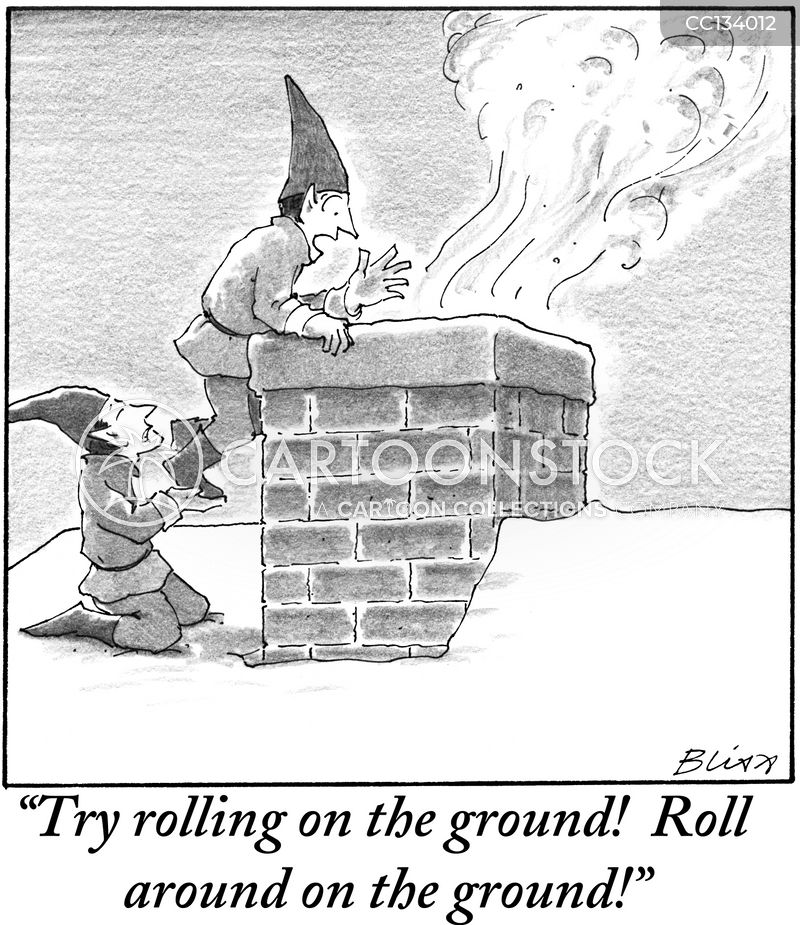 fire hazard cartoon