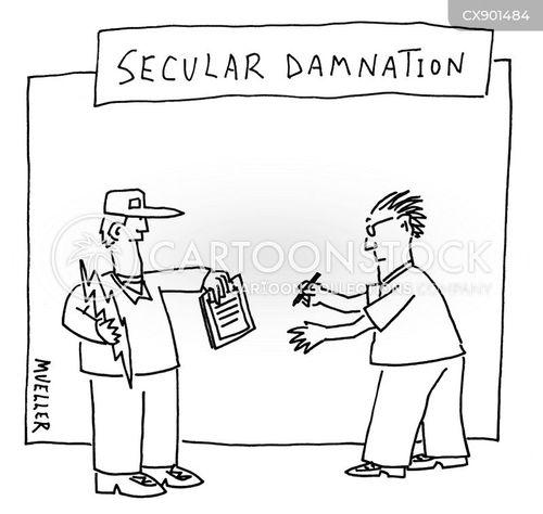 damned cartoon