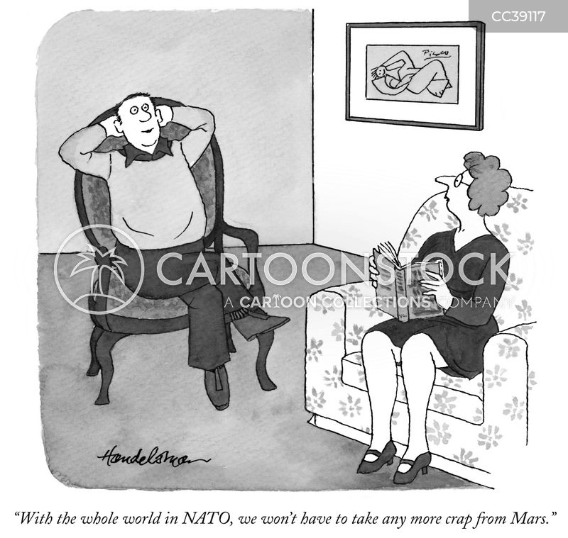 north atlantic treaty organisation cartoon
