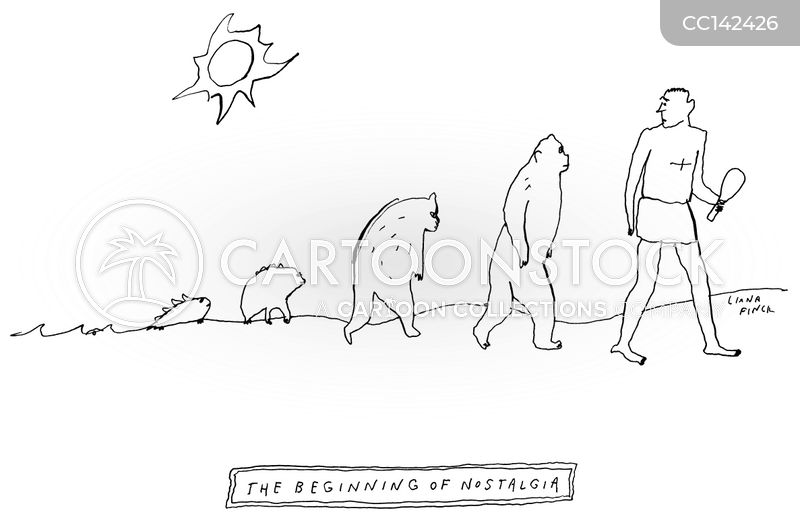 evolutionary theory cartoon