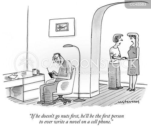 literary ambitions cartoon