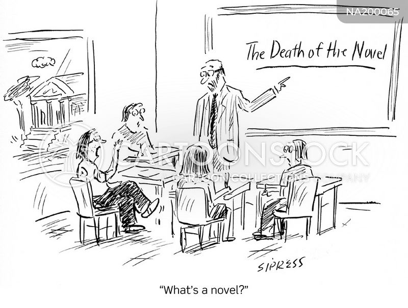 literary form cartoon