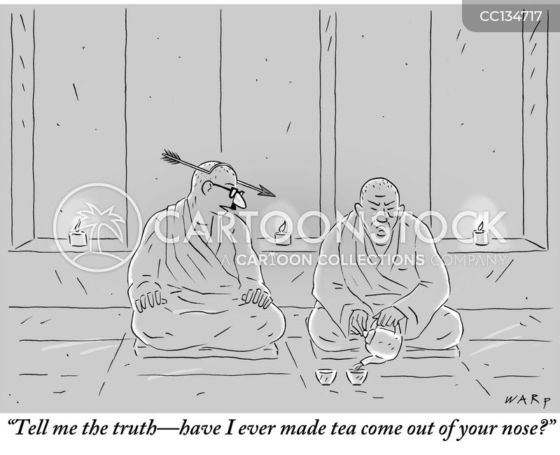 Monks cartoon
