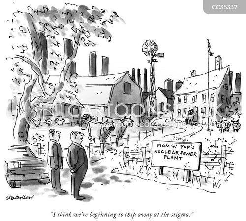 nuclear energy cartoon