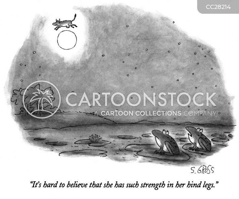 strength cartoon