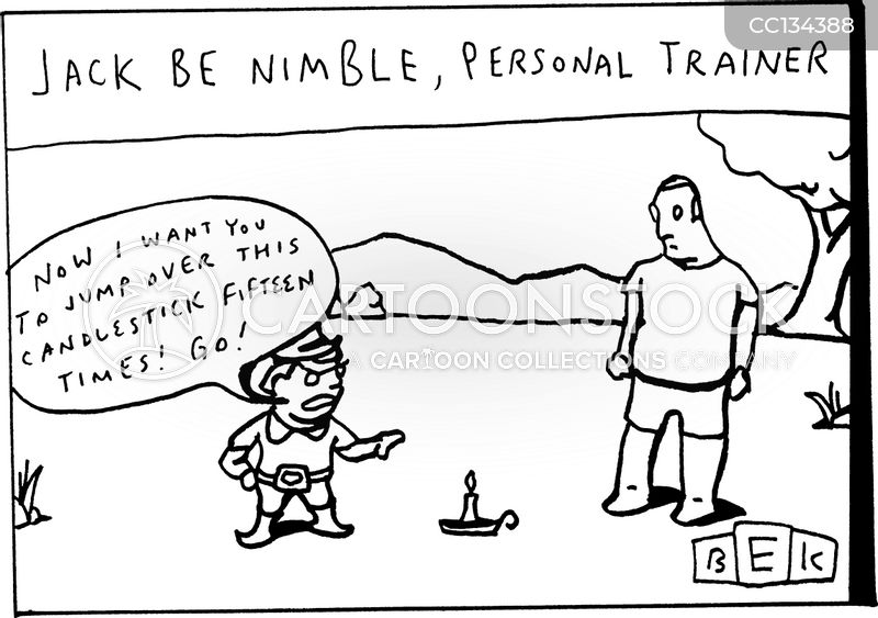 Jack Be Nimble cartoon