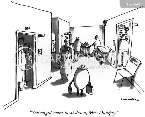mother goose cartoon