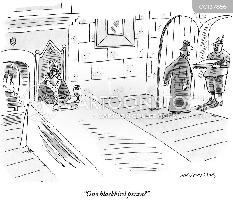 blackbirds cartoon