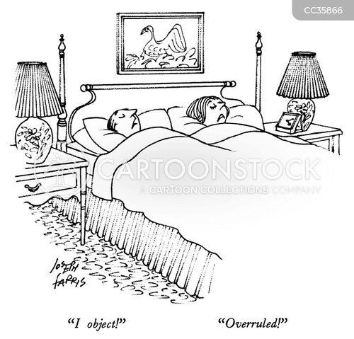 objection cartoon