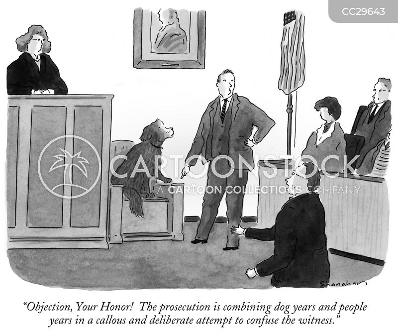 prosecutions cartoon