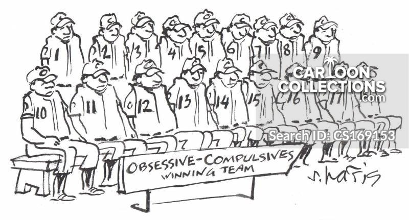 obsessive-compulsives cartoon