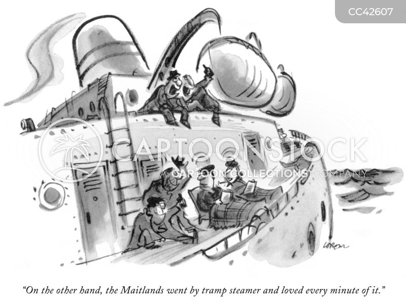ocean liner cartoon