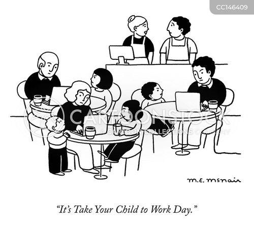 canteen cartoon