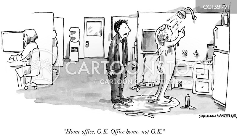Office Home cartoon