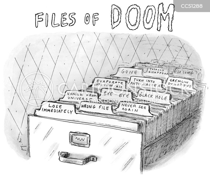 files cartoon