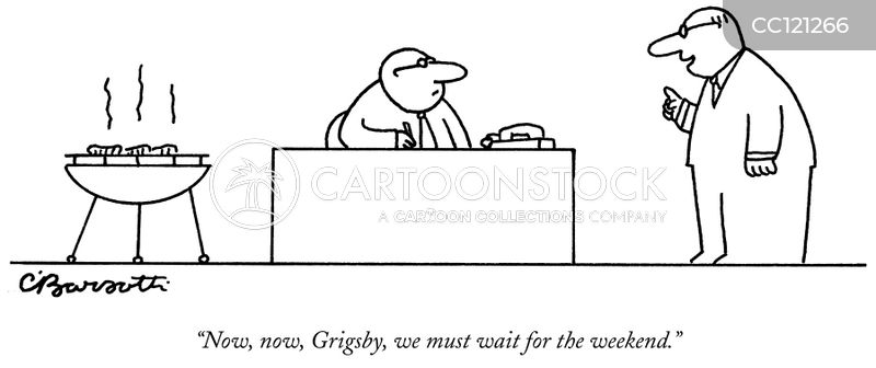 the weekend cartoon
