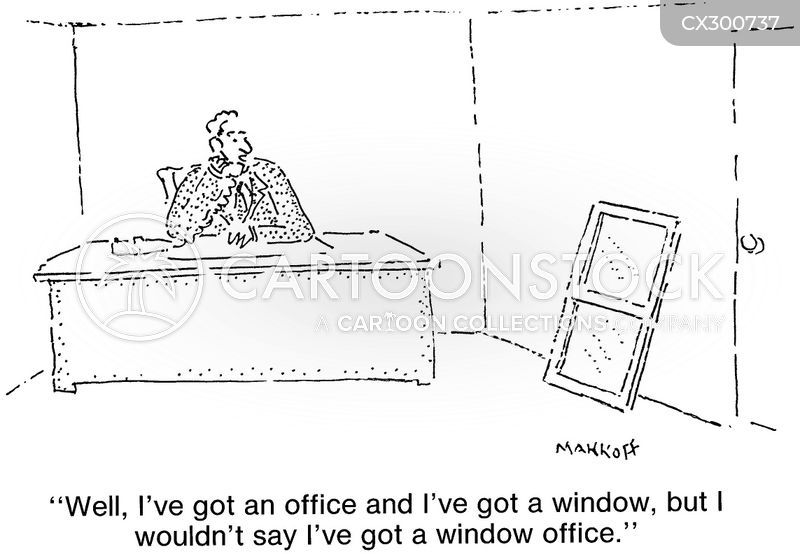 office space cartoon