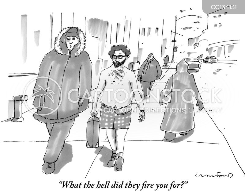 Work Clothing cartoon