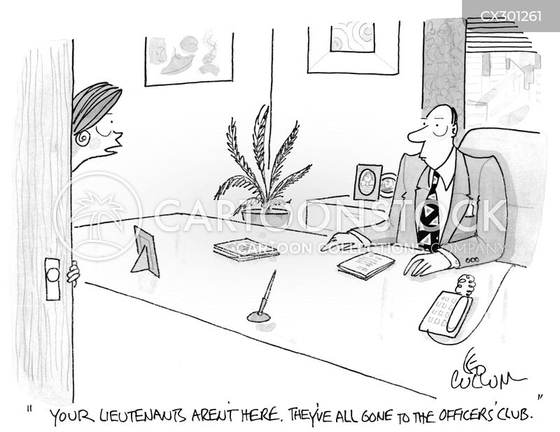 chief exec cartoon