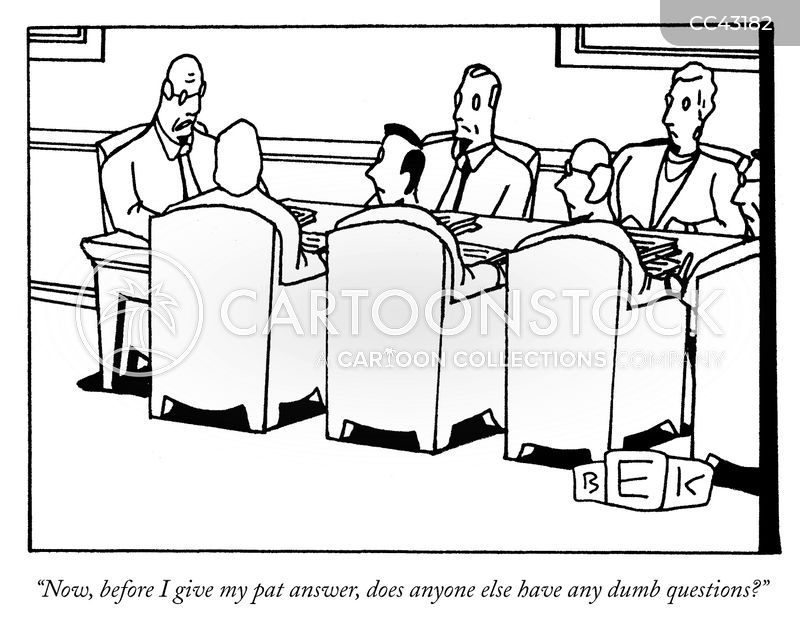 answers cartoon