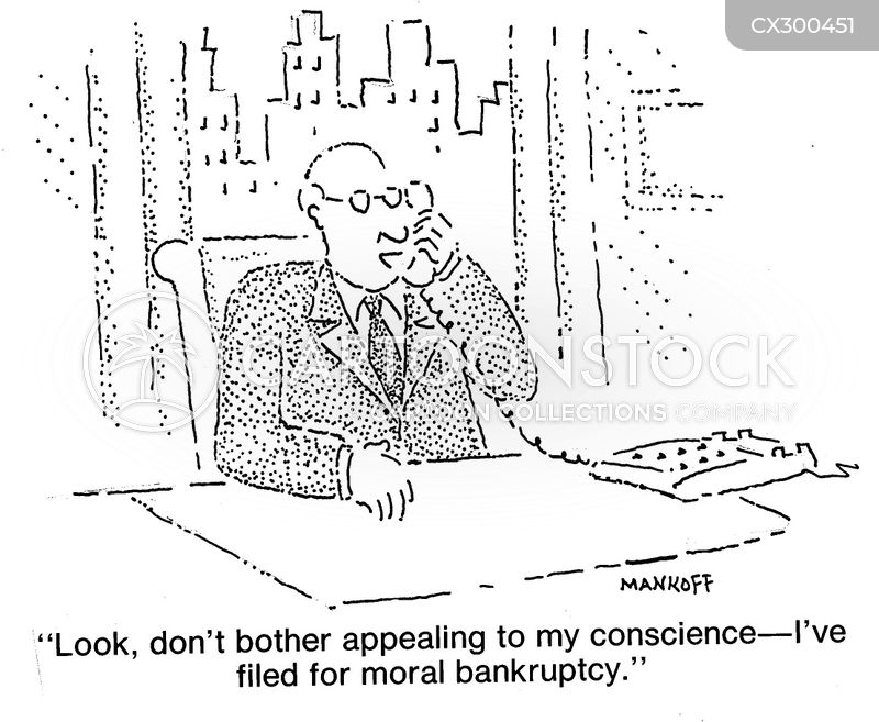 conscience cartoon