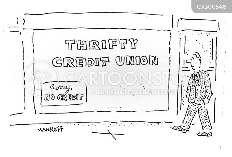 thrifty cartoon