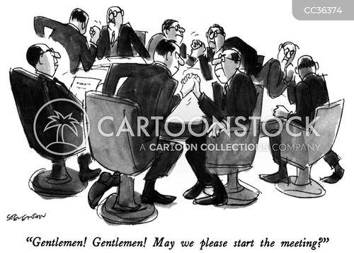 compete cartoon