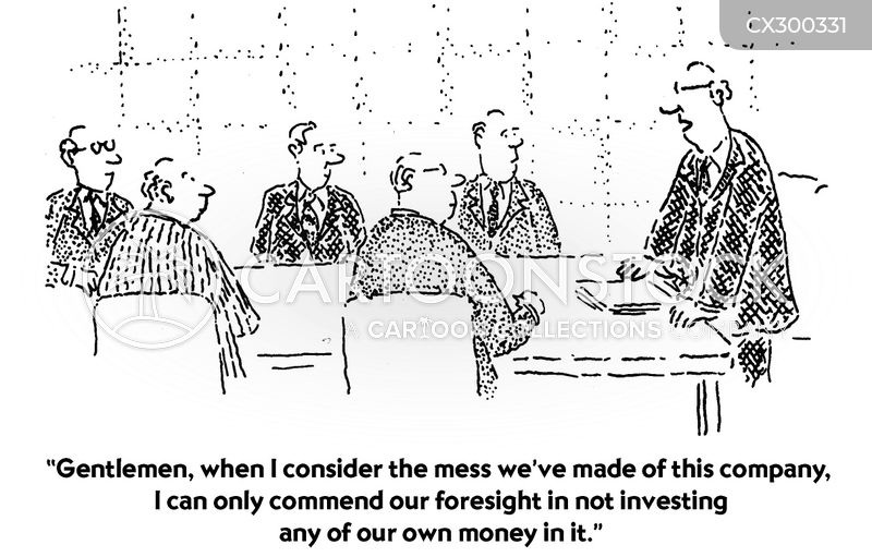 investment cartoon