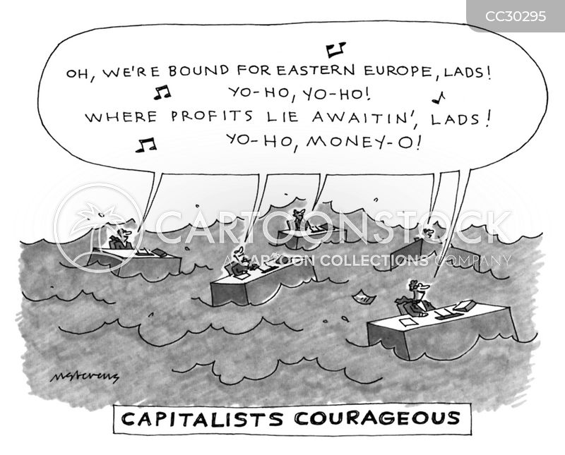 economic cartoon