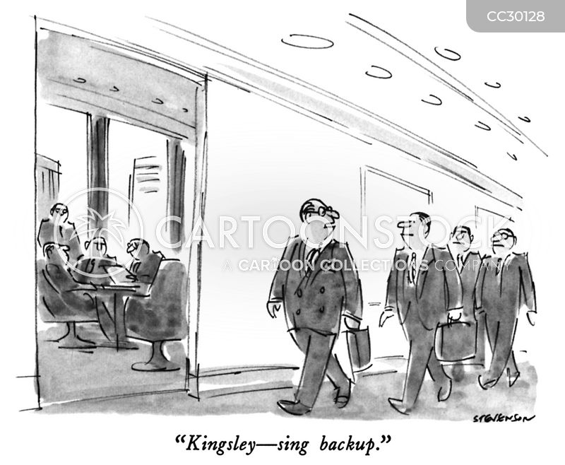 backup cartoon