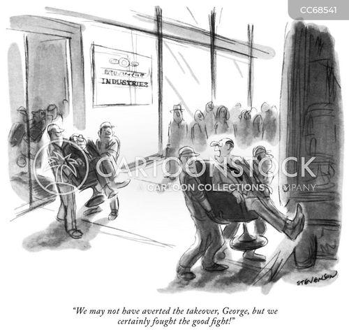 takeovers cartoon