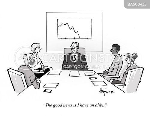 alibis cartoon