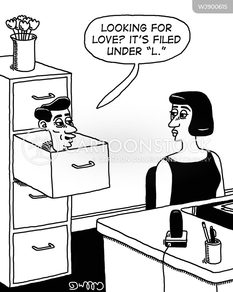 asking out cartoon