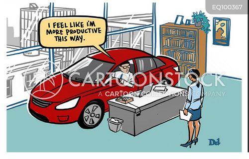 increase productivity cartoon